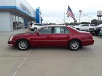 Crystal Red Tint 2011 Cadillac DTS Luxury FWD 4-Speed