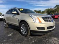 Tan 2011 Cadillac SRX Luxury FWD 6-Speed Automatic 3.0L