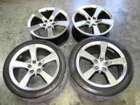 "Up for sale is a set of 20"" dark grey coated 2011"