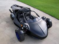 This is a 2011 Campagna T-Rex 14RR Trike, this is a