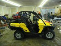 Stock# 3690 2011 Can-Am Commander XT 1000 Up for