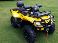 Make: Can Am Model: Other Mileage: 260 Mi Year: 2011