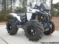 2011 Can Am Renegade 800r, this atv is tricked out to