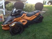 FINANCING AVAILABLE BURNT ORANGE AND BLACK LOW MILES