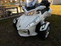 2011 Can Am Spyder RT Limited, 14800 miles, very well