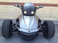 2011 Can-Am Spyder One of a kind one owner hardly used