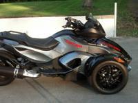,,,,,Has throttle boss, handlebar risers and custom