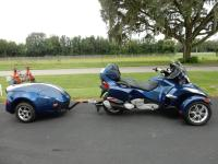 2011 Can-Am SPYDER RT-S with only 11,712 miles on it.