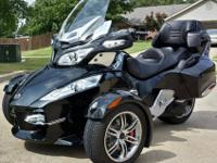 Mint condition used 2011 Can-Am Spyder RT-S with only