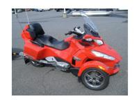 Touring Motorcycle, RED, 991cc cc, ROTAX, 29,006 mi.,