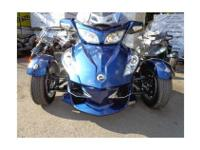 Touring Motorcycle, Orbital Blue Metallic, BRP-Rotax