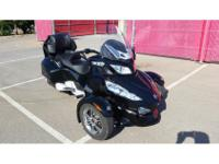 Trike Motorcycle, Black, 7,276 mi2011 Can-Am Spyder