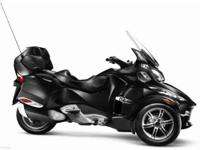 SM5 TRANSMISSION The Spyder RT-S package offers all the