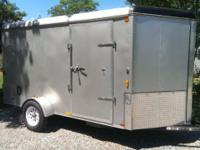 Very Clean, All Aluminum construction except for frame,