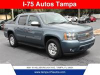Blue 2011 Chevrolet Avalanche 1500 LT LT1 RWD 6-Speed