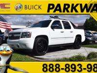 2011 Chevrolet Avalanche 1500 LTZ Summit White Vortec