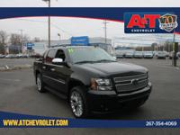 Clean CARFAX. Certified. Black 2011 Chevrolet Avalanche