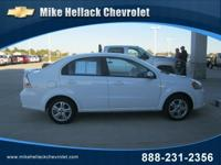 Options Included: N/A2011 CHEVROLET Aveo 4dr Sdn LT