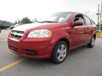 This 2011 Chevy Aveo is terrific on gas mileage! It is
