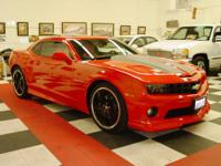 2011 Chevrolet Camaro 2SS Loaded with the most desired