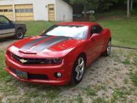 2011 Chevrolet Camaro SS/RS Package Victory Red with