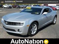 ONE OWNER| GM CERTIFIED CAMARO| ON STAR| TWO YEARS OF