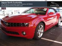 This 2011 Chevrolet Camaro 2dr 2dr Conv 2LT Convertible