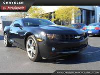 This outstanding example of a 2011 Chevrolet Camaro 1LS