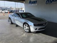 CARFAX One-Owner. Silver 2011 Chevrolet Camaro 2LT 2LT