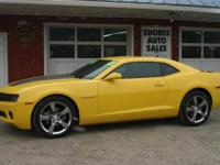 Come see this 2011 Chevrolet Camaro. Its Automatic