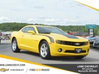 NON SMOKER, Rally Yellow w/ Black Stripe Package, Just
