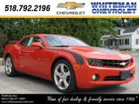 Our 2011 Chevrolet Camaro 2LT Coupe in Inferno Orange