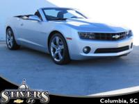 This 2011 Chevrolet Camaro 1LT Convertible offers