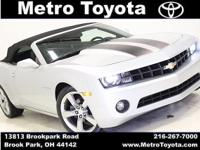 Accident-free CARFAX! 2D Convertible, Leather Interior,