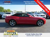 This 2011 Chevrolet Camaro 2LT in Victory Red is well