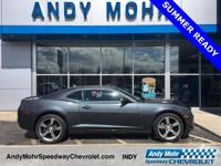 Cyber Gray Metallic 2011 Chevrolet Camaro 1LT Alloy