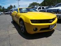 Come see this 2011 Chevrolet Camaro 1LT. Its Manual