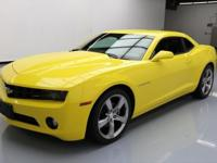 This awesome 2011 Chevrolet Camaro comes loaded with