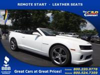 Used 2011 Chevrolet Camaro, DESIRABLE FEATURES: LEATHER