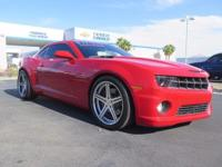 Look at this 2011 Chevrolet Camaro 1SS. Its Automatic