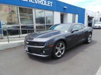 From mountains to mud, this Gray 2011 Chevrolet Camaro