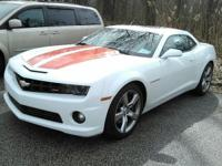This 2011 Chevy Camaro has heated mirrors (driver-side