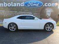 2011 Chevrolet Camaro SS 2SS Summit White Priced below