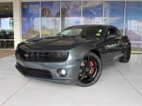 Camaro SS, 6-Speed Manual. Clean CARFAX. Reviews:*