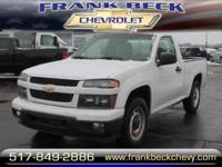 Options:  2011 Chevrolet Colorado Work Truck|4X2 Work
