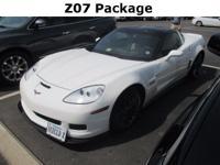Corvette... Z06... Coupe... 7.0 V8... 6-Speed