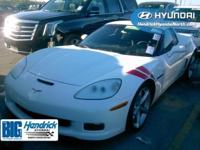 Corvette Grand Sport, 2D Coupe, RWD, Arctic White, and