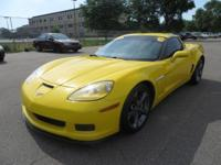 This 2011 Chevrolet Corvette coupe comes in Grand Sport