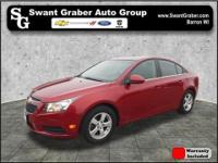 This Chevrolet Cruze is a fresh personal lease return!