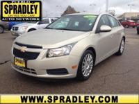 This 2011 Chevrolet Cruze ECO w/1XF is offered to you